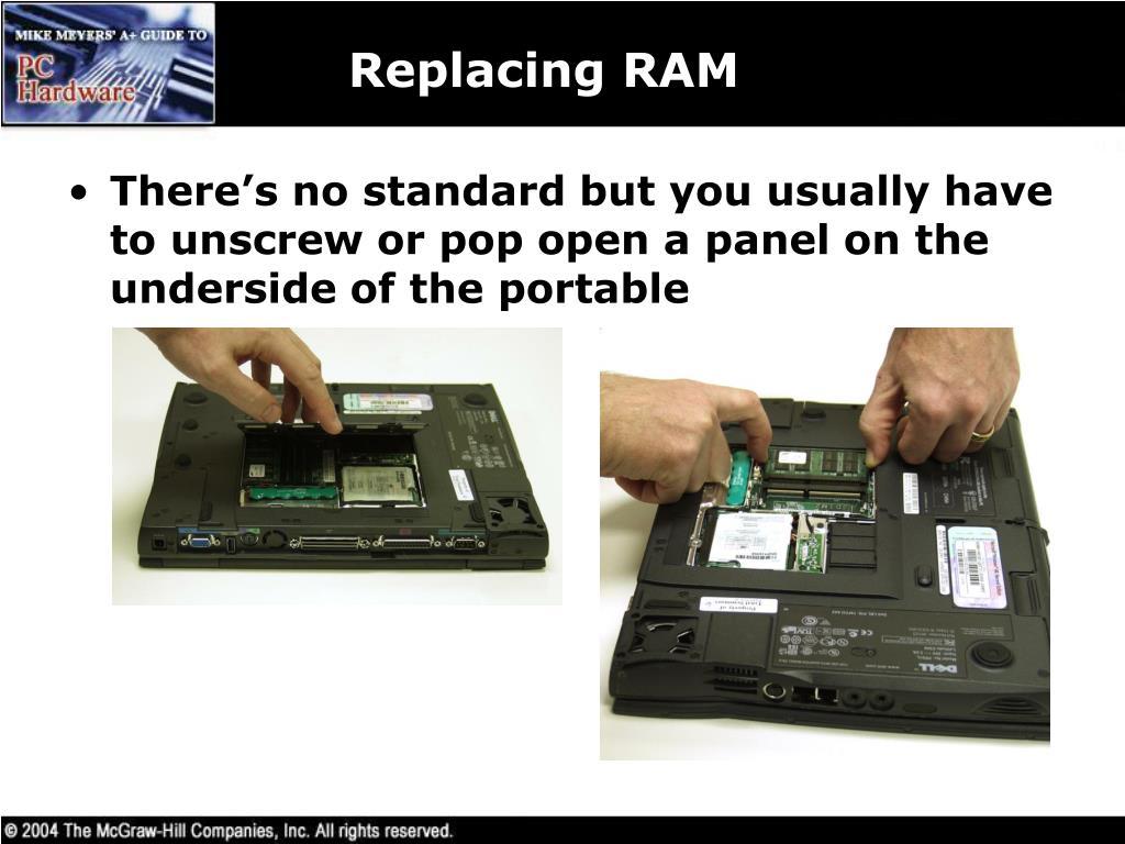 Replacing RAM