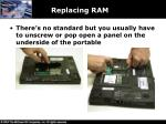 replacing ram