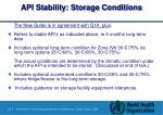 api stability storage conditions1