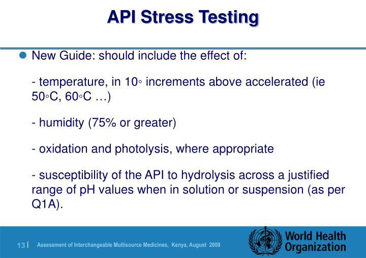 API Stress Testing