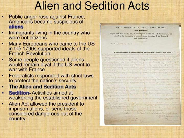 dbq alien and sedition acts Jefferson george washington's farewell address george washington's farewell address alien and sedition acts alien and sedition acts marshall court unit synthesis task unit dbq: causes of the american revolution using evidence: nys regents style dbq.