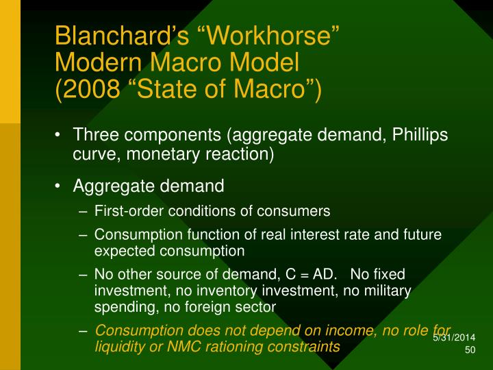 "Blanchard's ""Workhorse"""