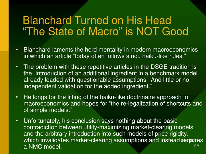 Blanchard Turned on His Head