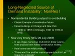 long neglected source of demand instability nonres i
