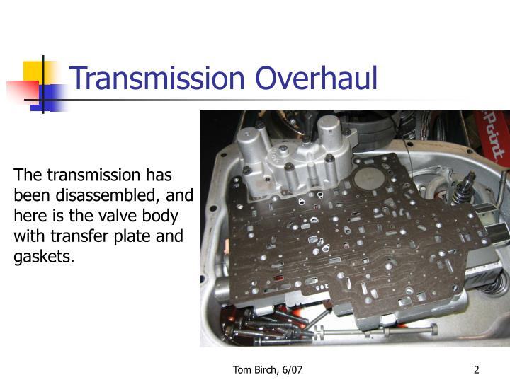 Transmission Overhaul
