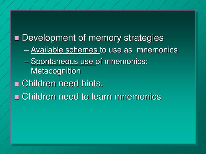 Treatment for memory loss in old age