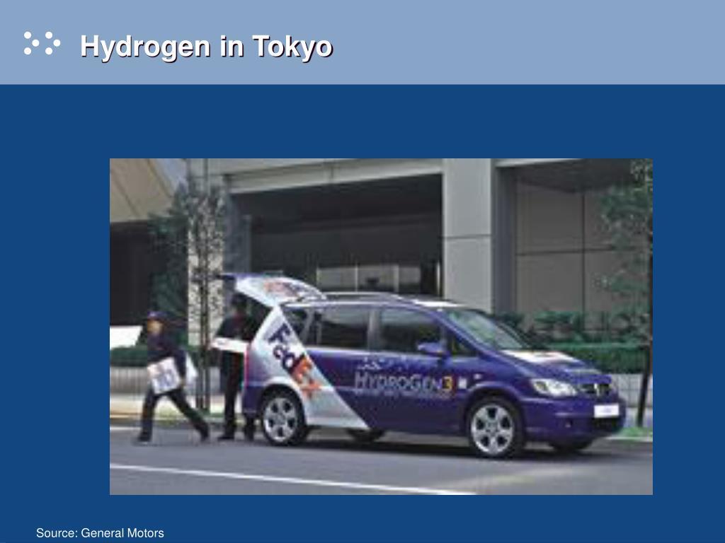 Hydrogen in Tokyo