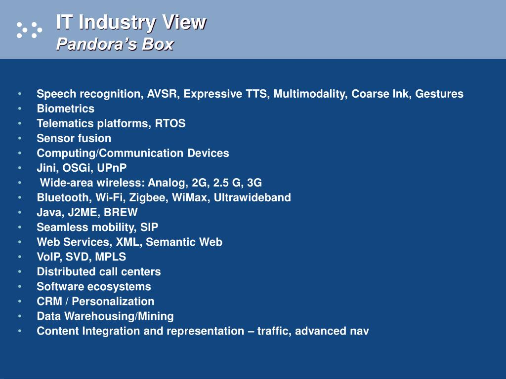 IT Industry View