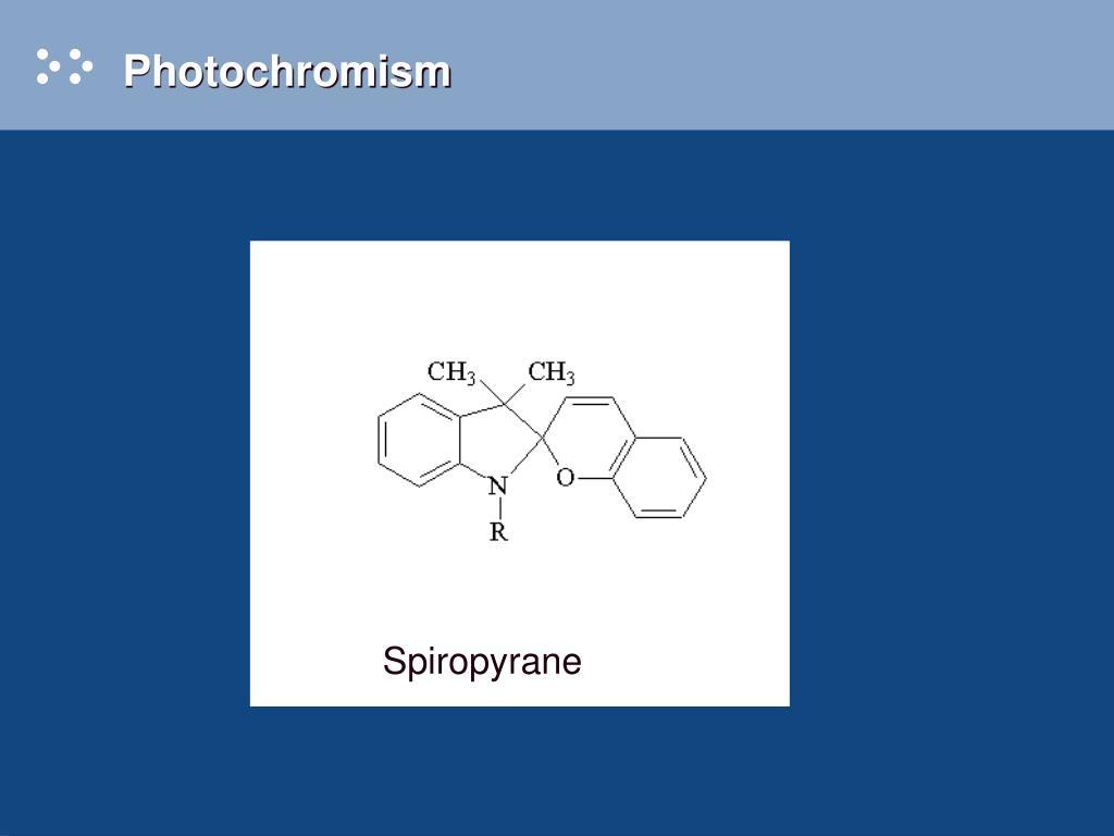 Photochromism