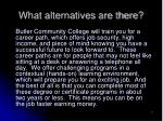what alternatives are there7
