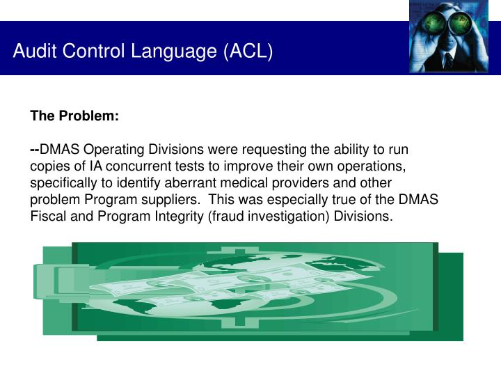 Audit Control Language (ACL)