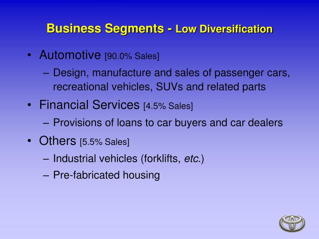 Business Segments -