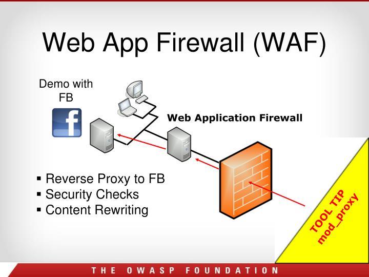 Web App Firewall (WAF)
