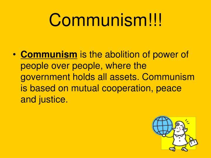 Communism!!!
