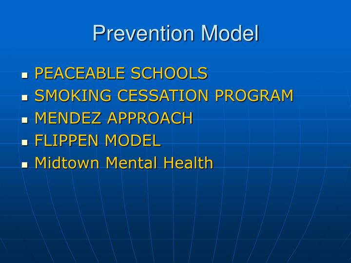Prevention Model