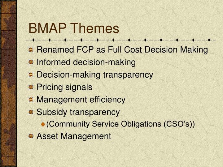 BMAP Themes