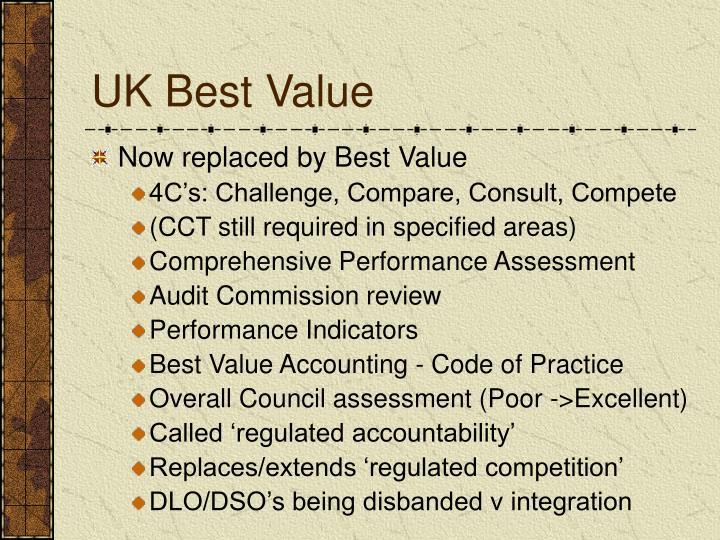UK Best Value