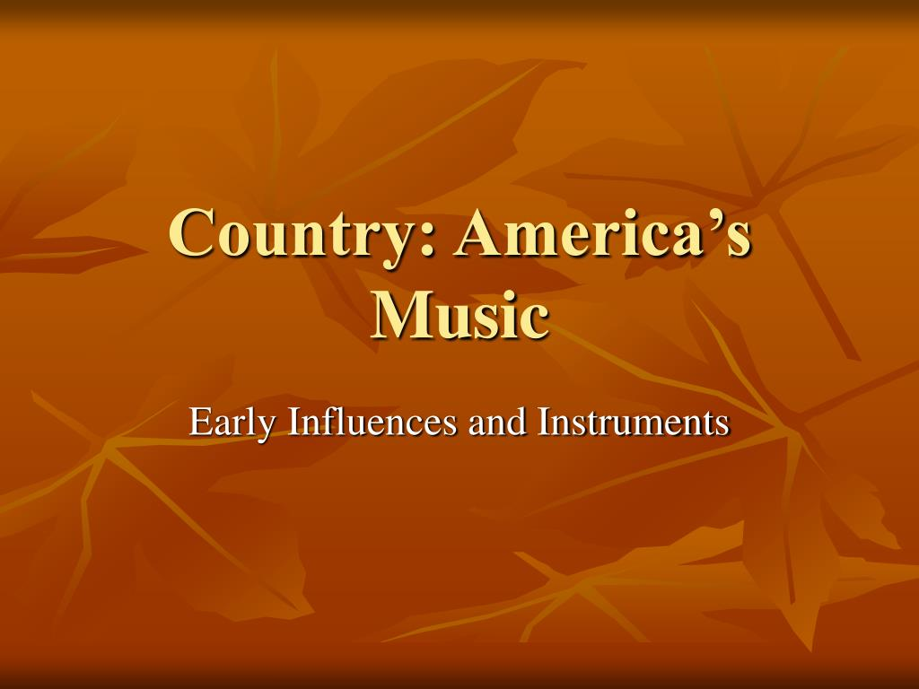 Country: America's Music