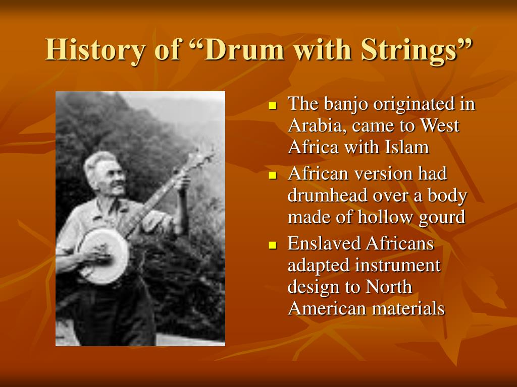 """History of """"Drum with Strings"""""""