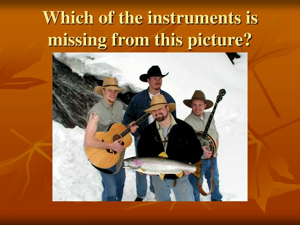Which of the instruments is missing from this picture?