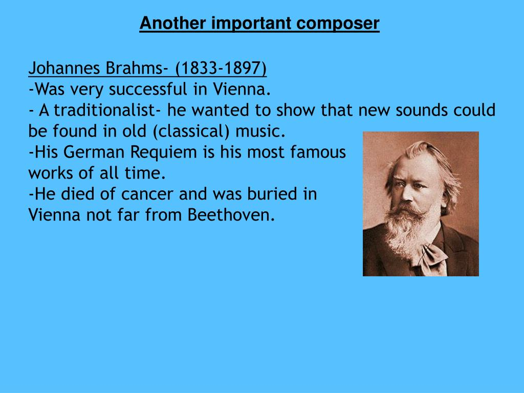 Another important composer