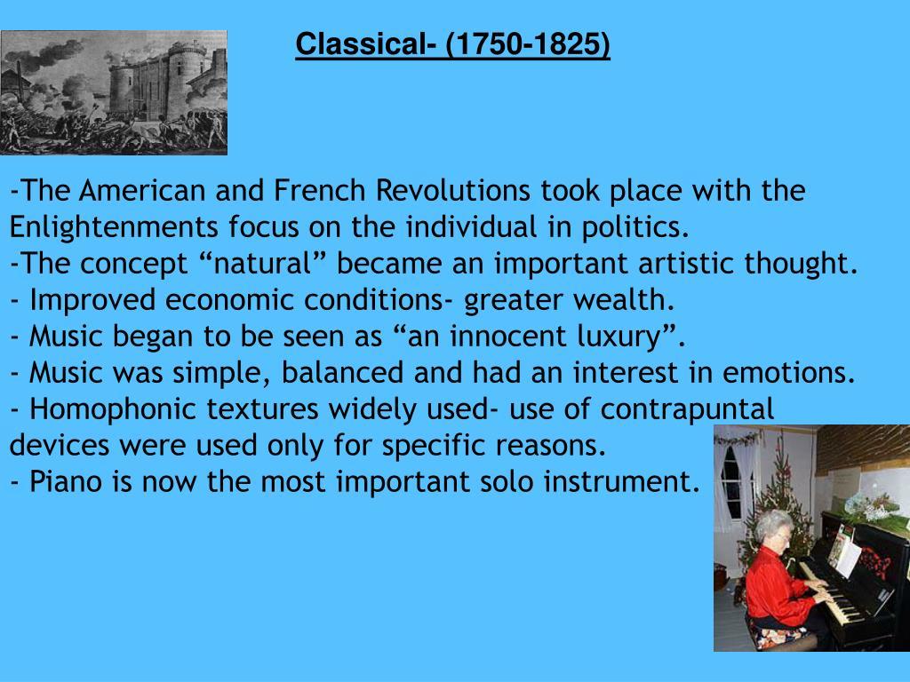 Classical- (1750-1825)