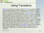 using transitions9