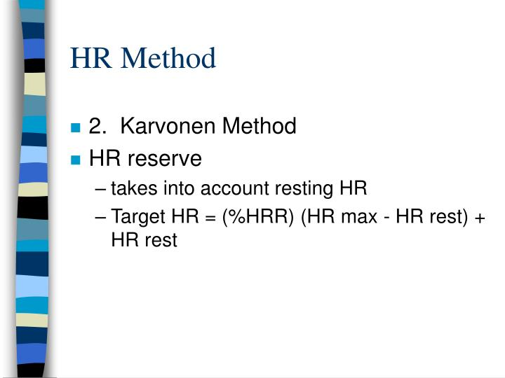 HR Method