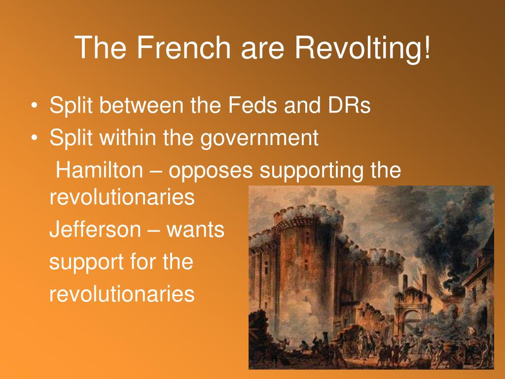 The French are Revolting!