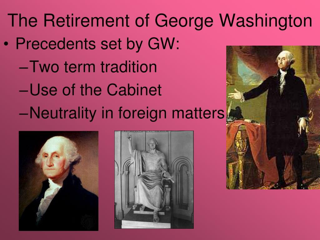 The Retirement of George Washington