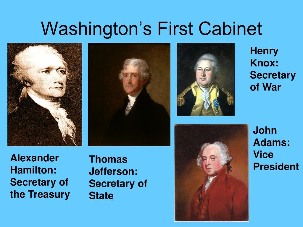 Washington's First Cabinet