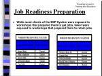 job readiness preparation