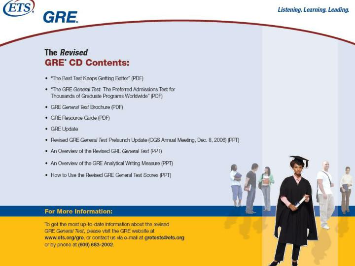 Revised gre general test a prelaunch update