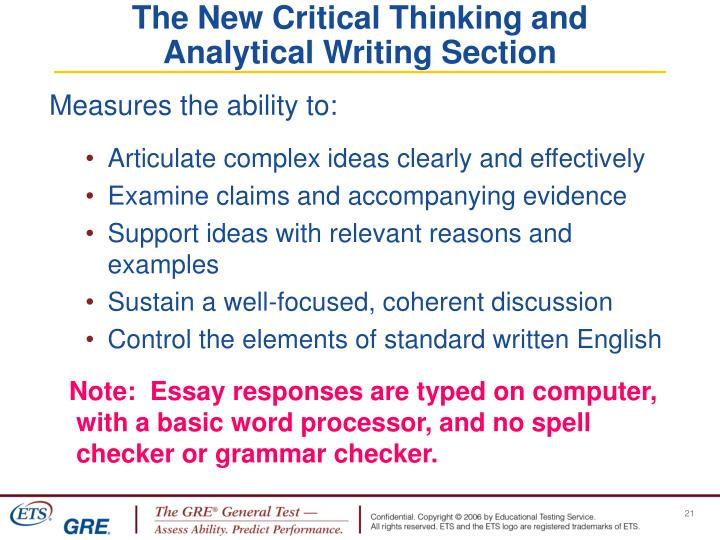 The New Critical Thinking and