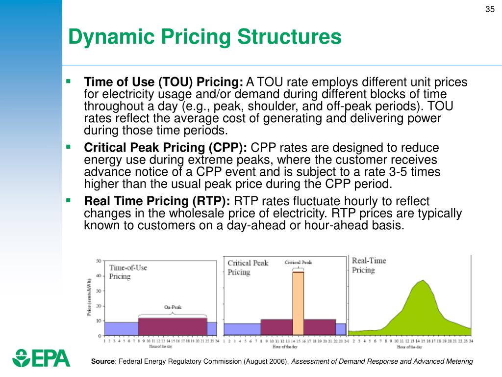 Dynamic Pricing Structures
