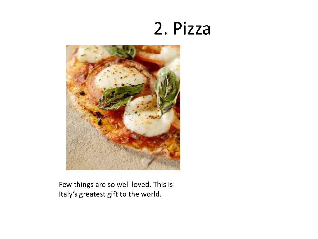 2. Pizza