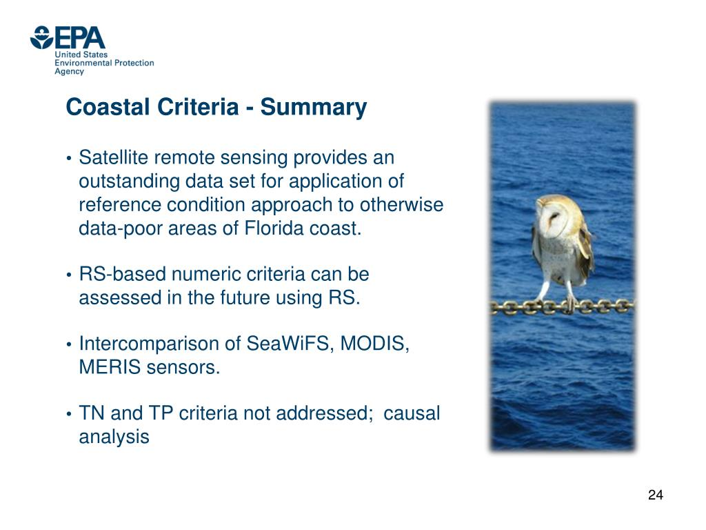 Coastal Criteria - Summary