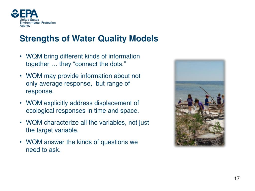 Strengths of Water Quality Models