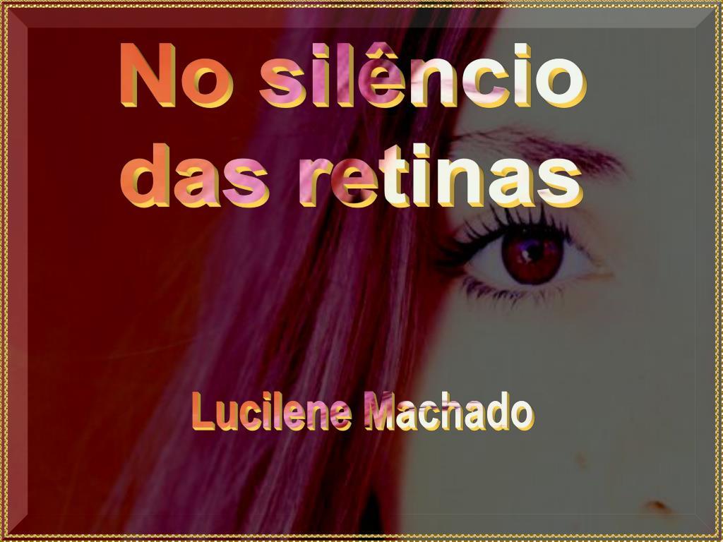 No silêncio