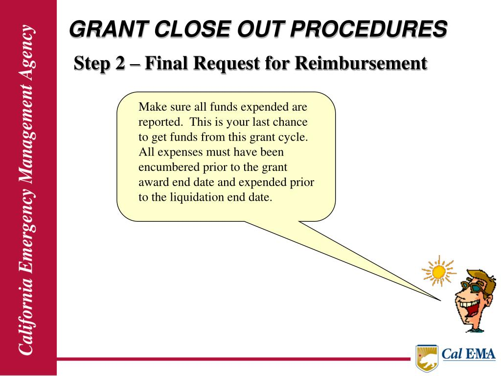 GRANT CLOSE OUT PROCEDURES