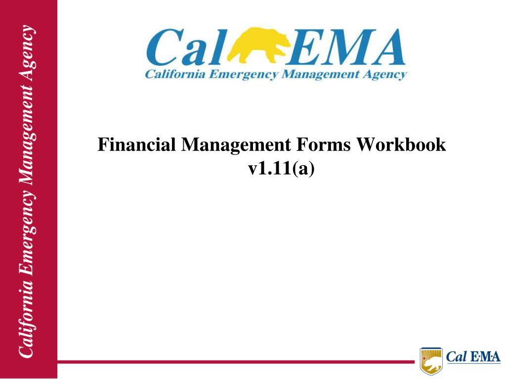 Financial Management Forms Workbook  v1.11(a)