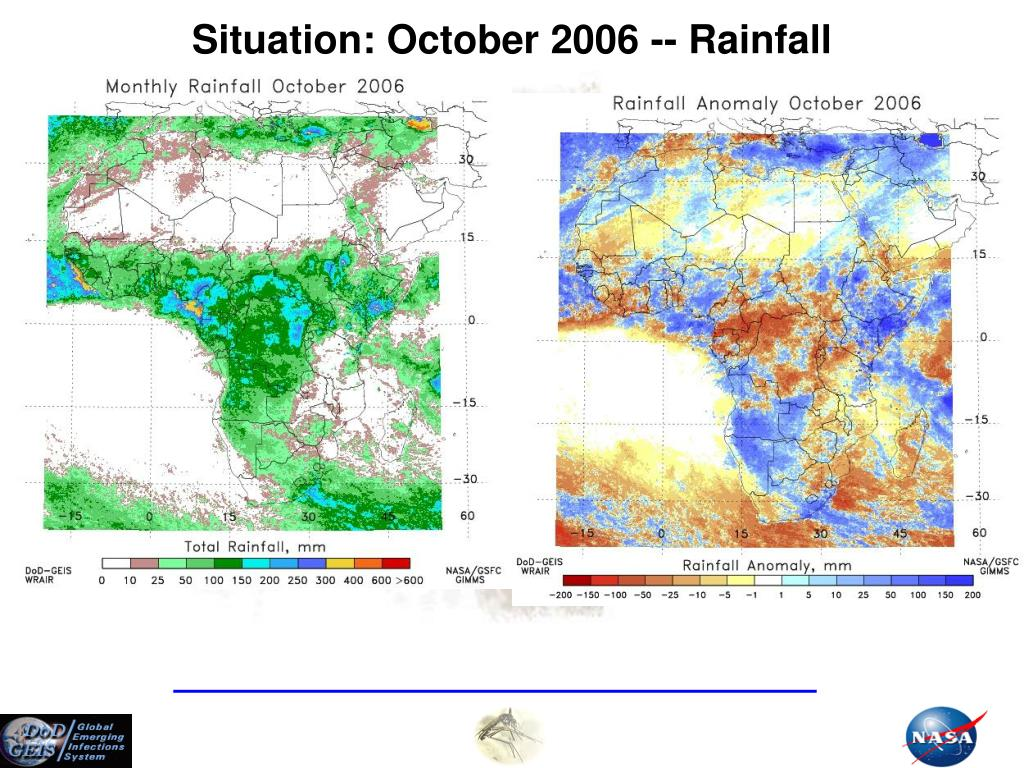 Situation: October 2006 -- Rainfall
