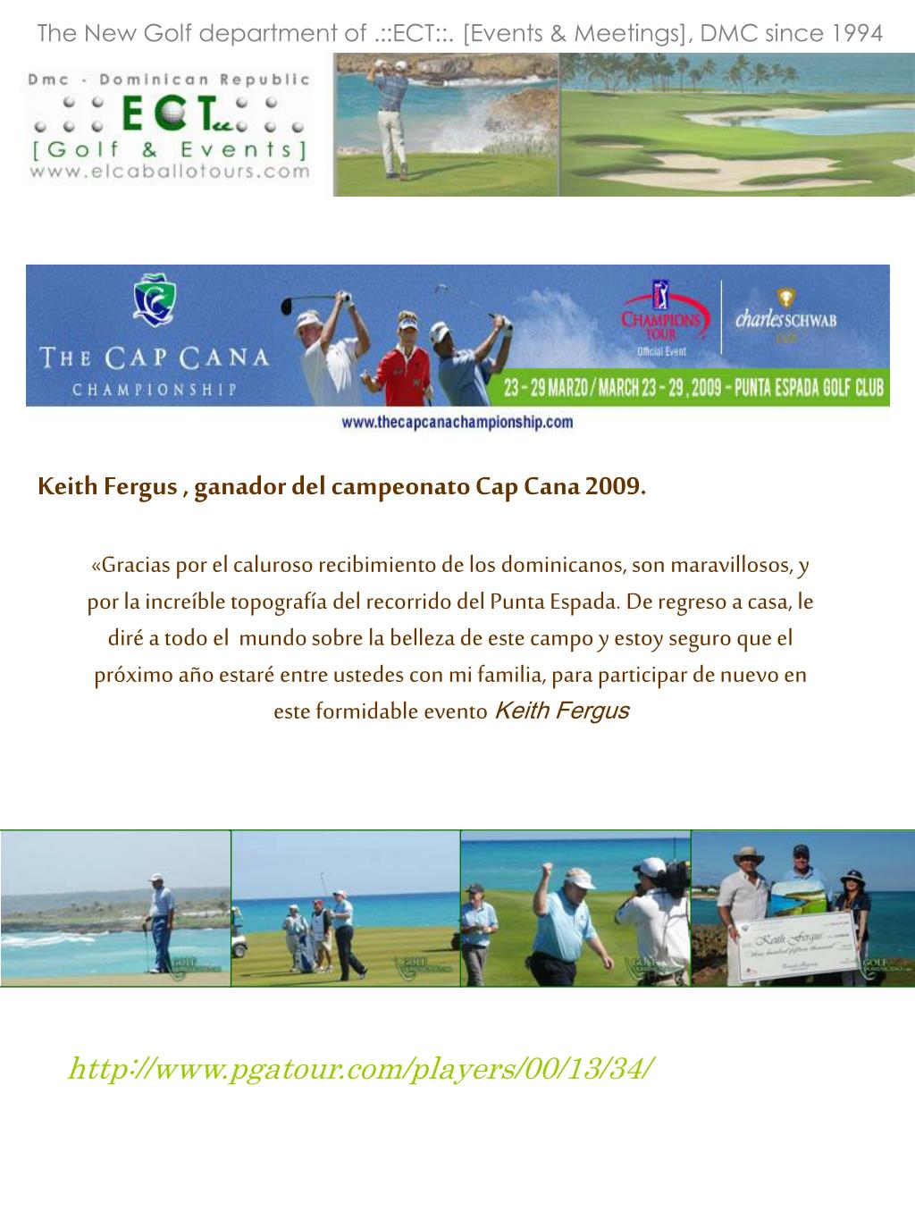 The New Golf department of .::ECT::. [Events & Meetings], DMC since 1994
