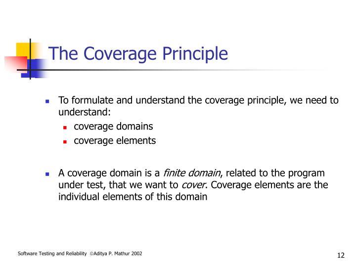 The Coverage Principle