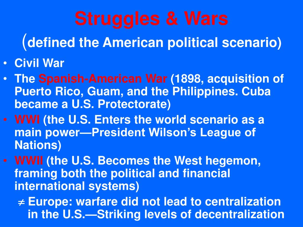 Struggles & Wars