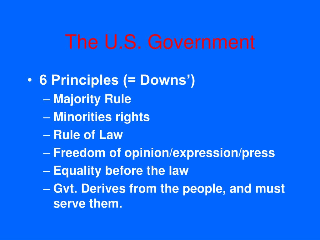 The U.S. Government