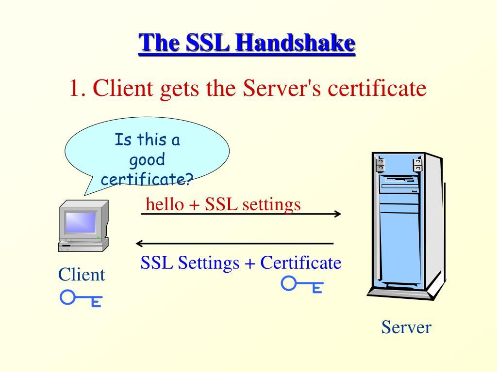 hello + SSL settings