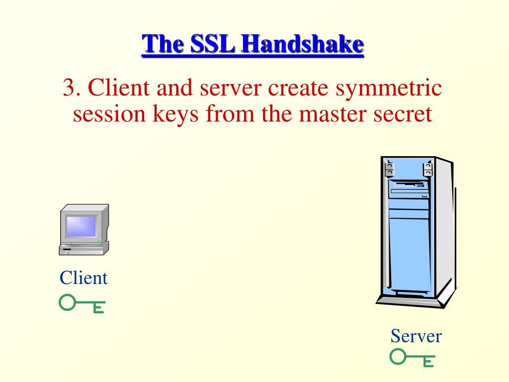 The SSL Handshake