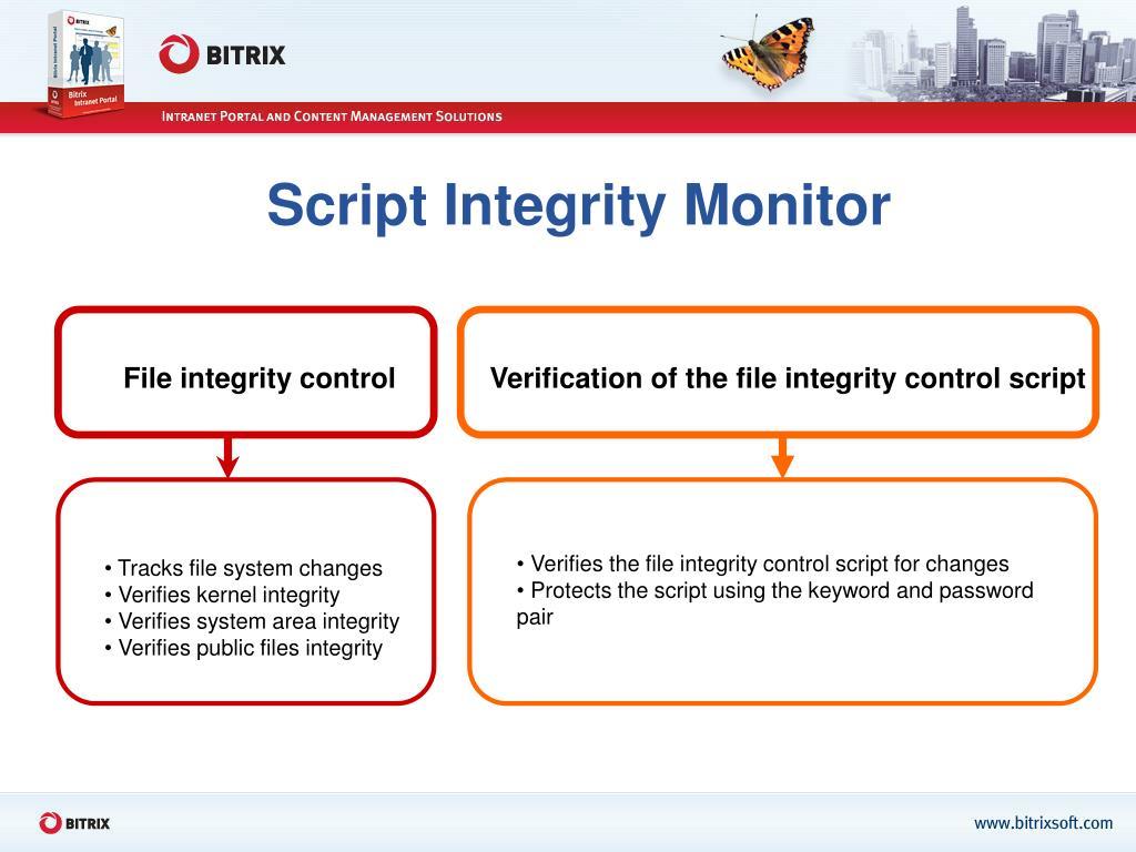 Script Integrity Monitor