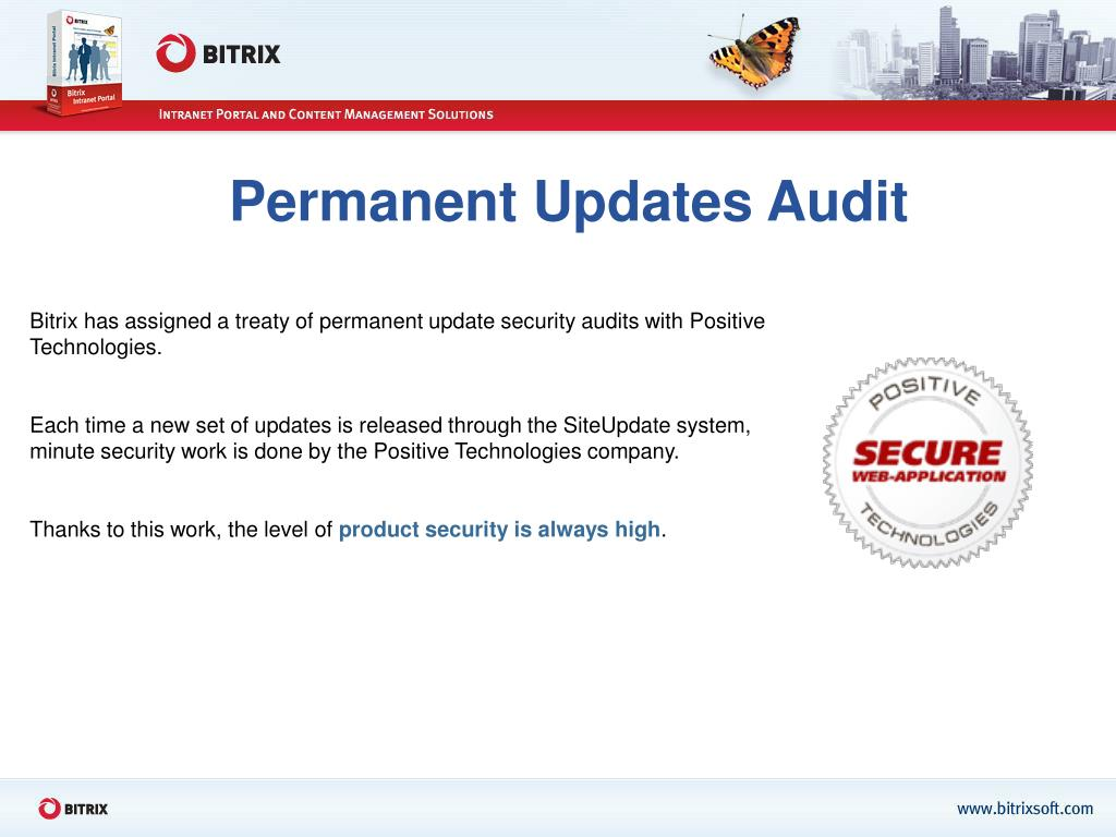 Permanent Updates Audit